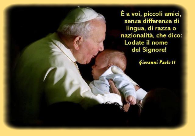 frasi di papa wojtyla sulla vita