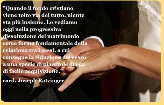 Frasi Matrimonio Don Giussani.Citazioni E Frasi Di Papa Benedetto Xvi Sul Natale Leggoerifletto