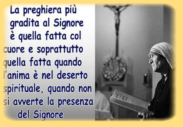Favorito Preghiera per gli esclusi - Madre Teresa di Calcutta - leggoerifletto UD35