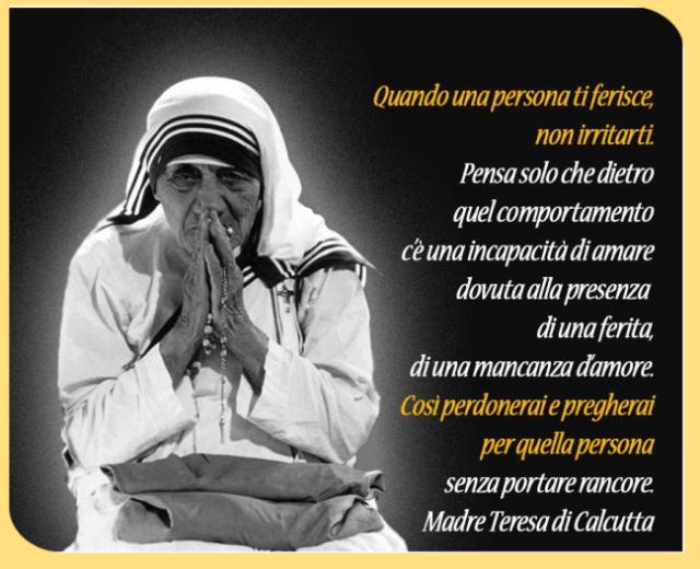 Eccezionale Signore, quando avrò fame – Madre Teresa di Calcutta - leggoerifletto VU83