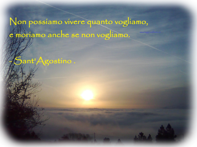 Frasi Di Sant Agostino Leggoerifletto