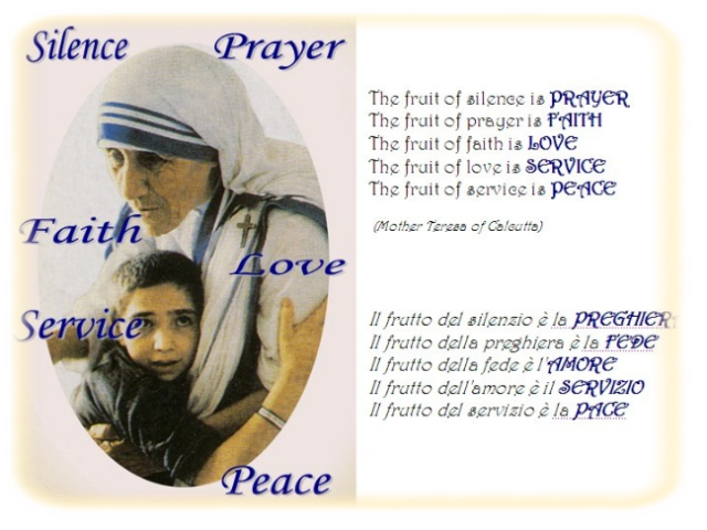 Top Saggezza - Beata Madre Teresa di Calcutta - leggoerifletto VC06